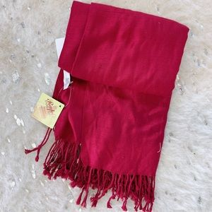 Simple Red Scarf